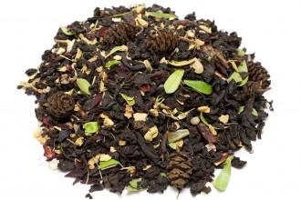 """Чёрный чай Детокс """"С имбирём и брусникой"""""""