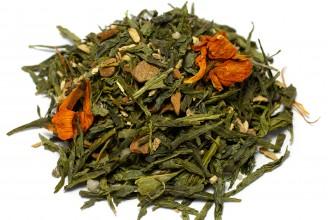 """Зелёный чай Детокс """"С имбирём, корицей и мёдом """" (без ароматизаторов)"""