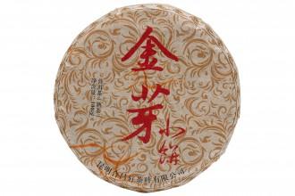 Пуэр Шу Цзинь Шань Сяо Пин 2019г. (100г)