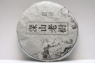 """""""Шень Шань Лао Шу"""" Шен пуэр 2019г. (блин 100г)"""