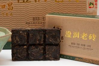 """""""Чэнь жунь лао чжуань"""" Шен пуэр HHC TEA 2015г. (2 плитки по 50г)"""