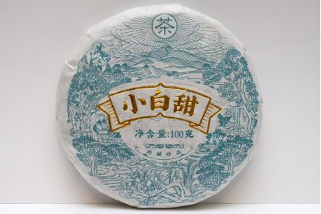 Белый чай Сяо Бай Тянь (блин 100 г) 2020г.