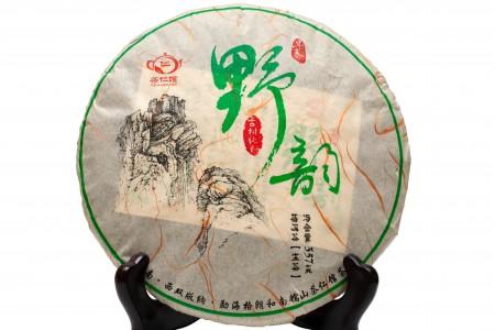 """Шен Пуэр """"Музыка природы"""" (Юньнань Мэнхай), 2018 год, 357г блин"""