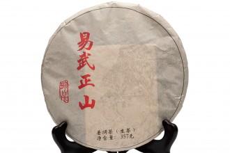 "Шен Пуэр ""И У Чжен Шань"" (фаб. Цзин май), 2019 г. (357г блин)"